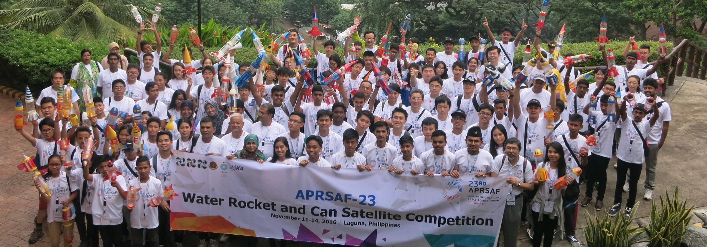 APRSAF Water Rocket Event
